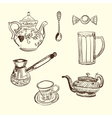 Kitchen devices Coffee vector image