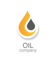 oil company vector image