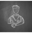 bartender icon vector image