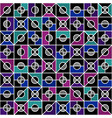 geometric seamless pattern in style of the 80s vector image