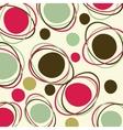 Retro - seamless pattern vector image