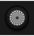black circle icon Eps10 vector image vector image