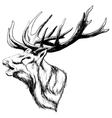 Crying Deep Art vector image vector image
