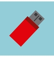 memory flash isolated icon vector image