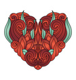 Deco Abstract Heart vector image