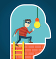 Copyright infringement To steal an idea vector image vector image