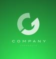 Alphabet letter G logo icon design vector image