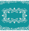 frame fancy background vector image