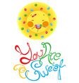 summer sweet vector image vector image