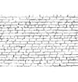 Blue brick wall vector image