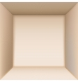 Box top view vector image