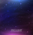 space galaxy background vector image