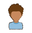 people young man icon image vector image