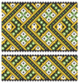 Embrodery ornaments vector image vector image