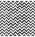 hand drawn black and white chevron repeat pattern vector image