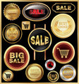 design elements for business - sale vector image