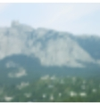 blurred mountain landscape vector image