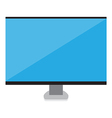 Smart computer icon vector image