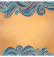 waves paper texture vector image