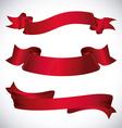 Decorative ribbon design vector image