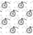 clocks seamless pattern with pocket watches a vector image