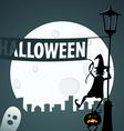 Halloween preparations vector image