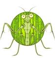 Cartoon character Mantis vector image