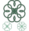 Four Leaf Clover vector image