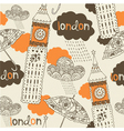 London Elements Background vector image