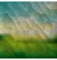 Polygonal background design vector image