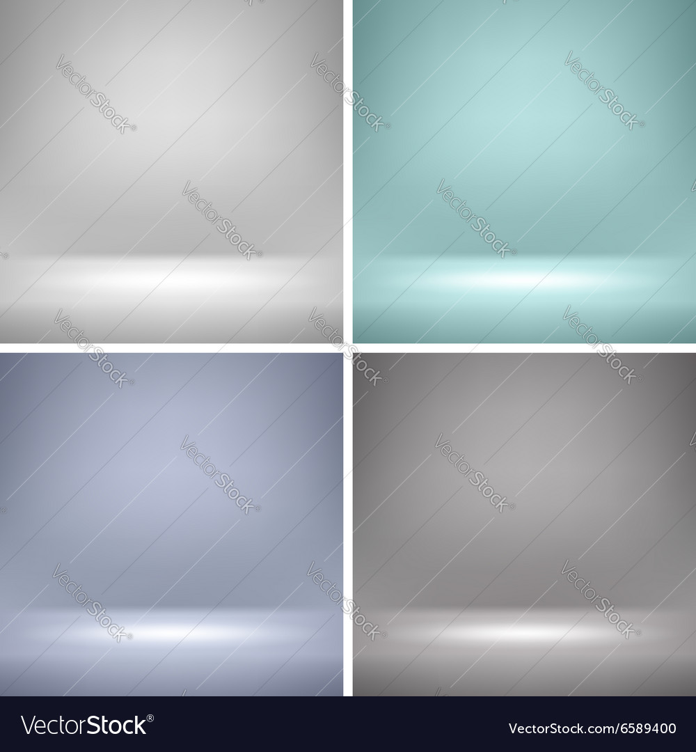 Empty stage backgrounds vector
