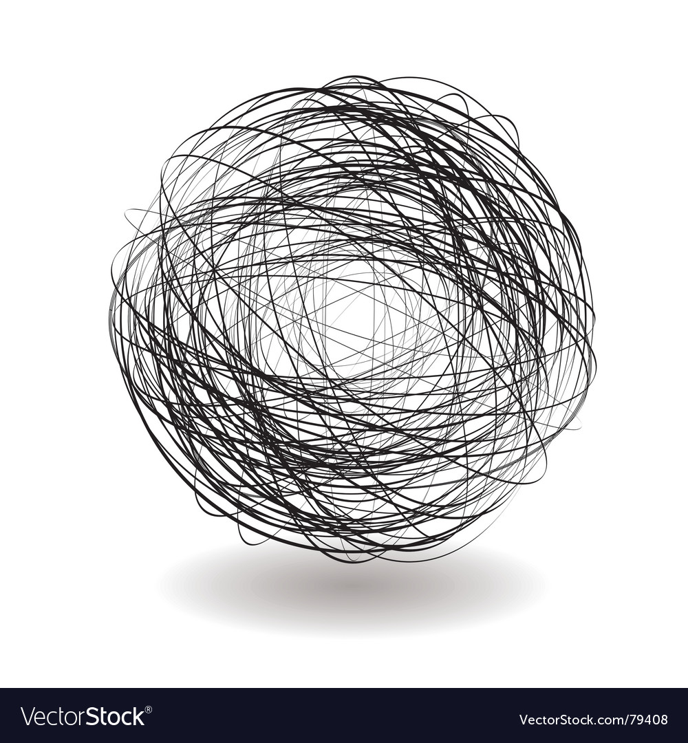 Scribble single vector