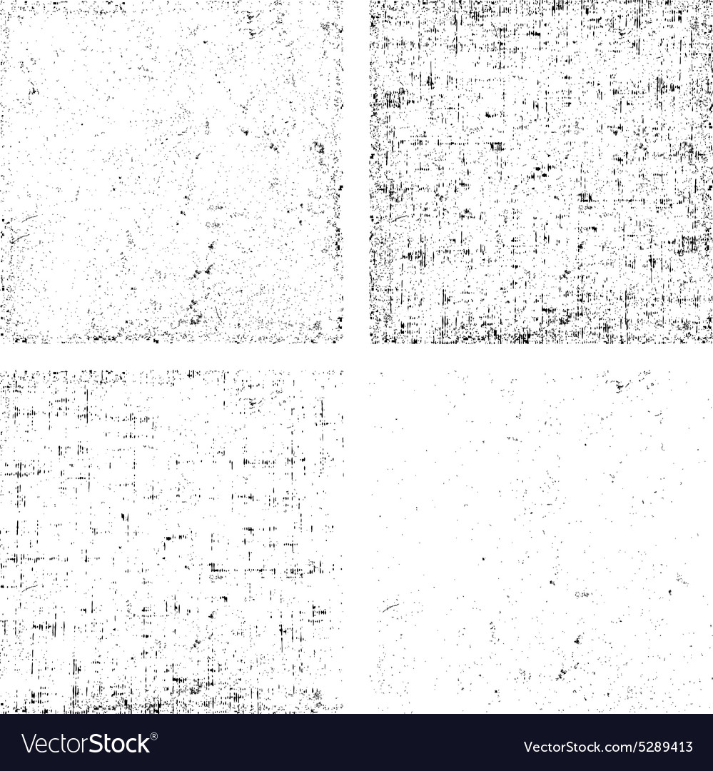 Collection of dirt grunge texture overlay any vector