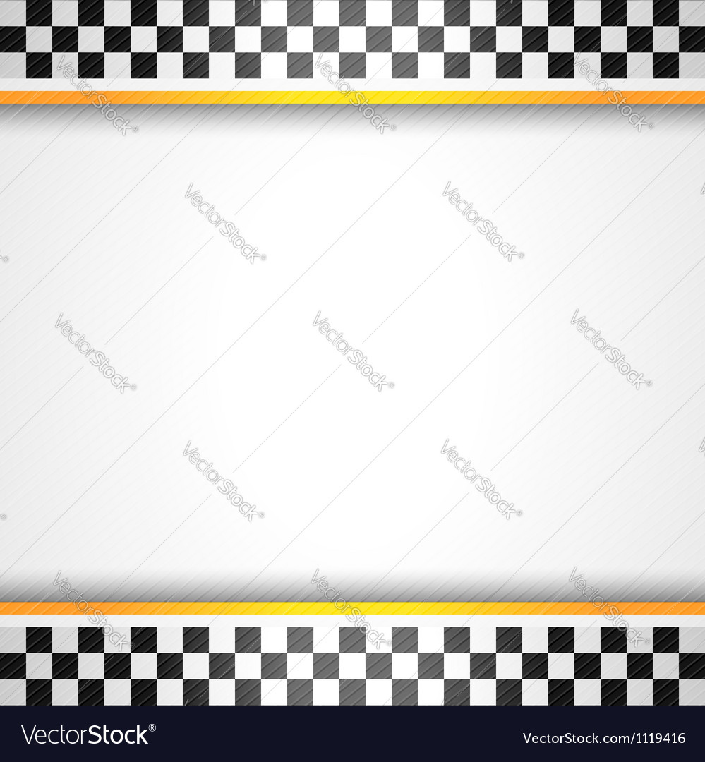 Racing background square vector