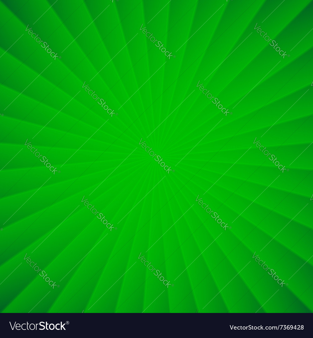 Green rays carnival background vector