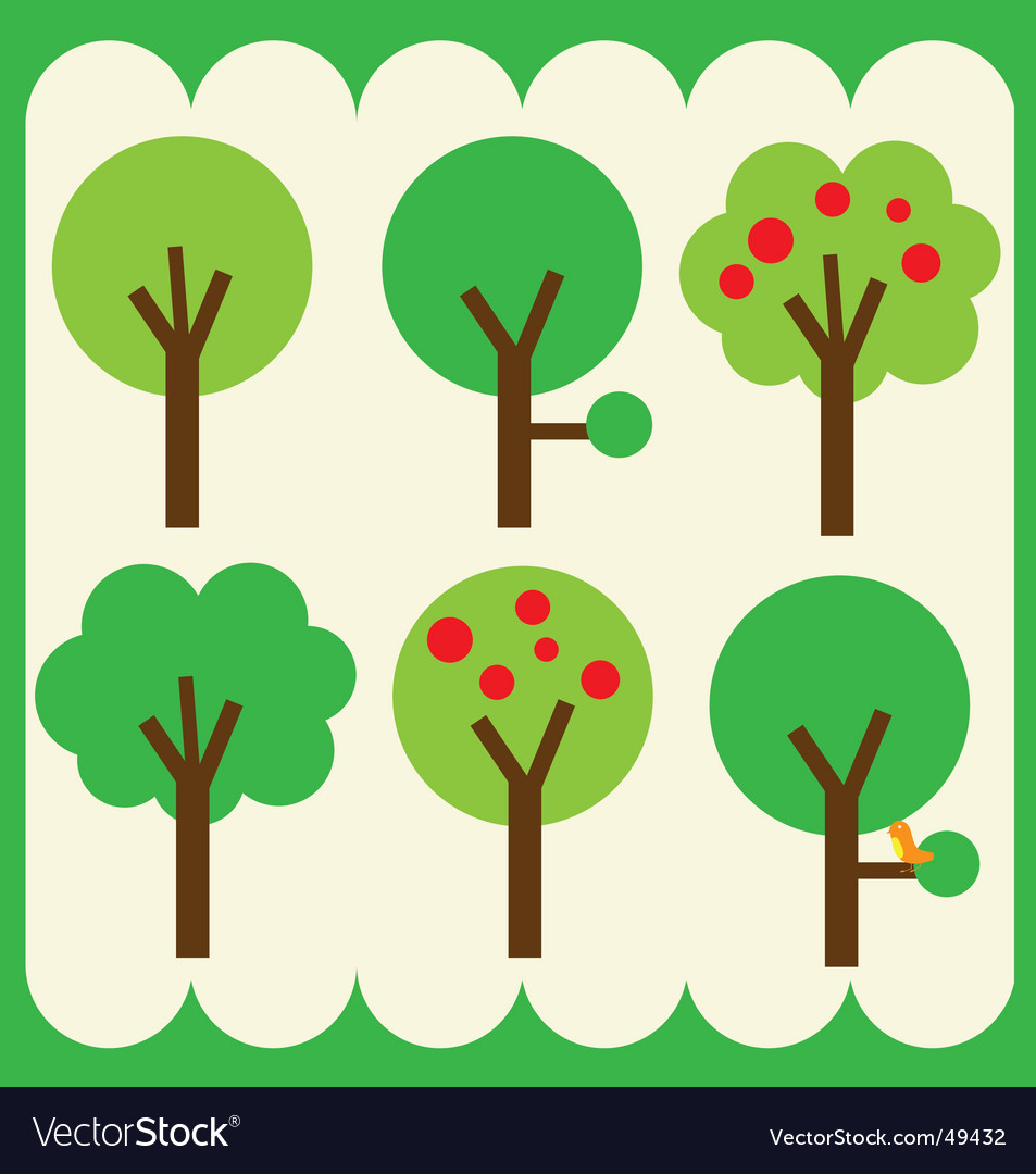 Simple trees vector