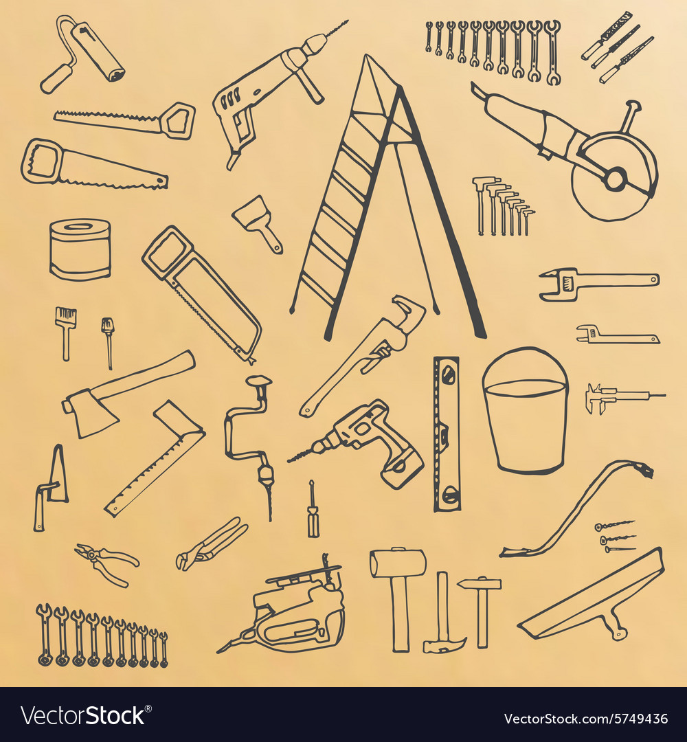 Sketch tools vector