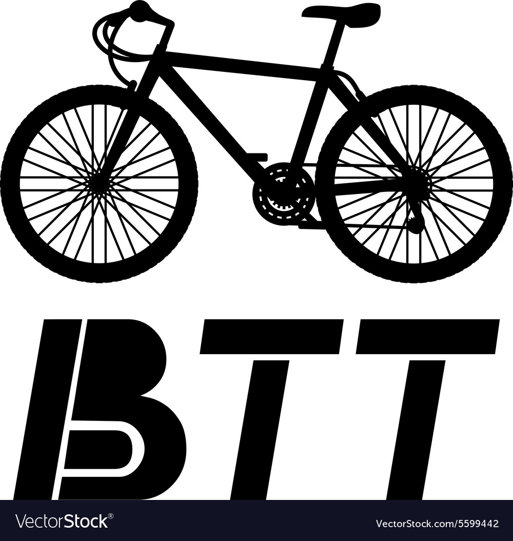 Btt icon vector