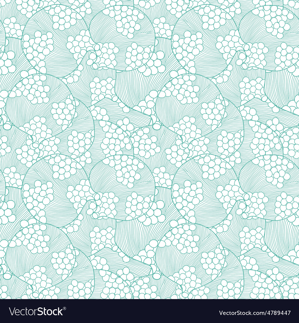 Abstract bubbles texture seamless pattern vector
