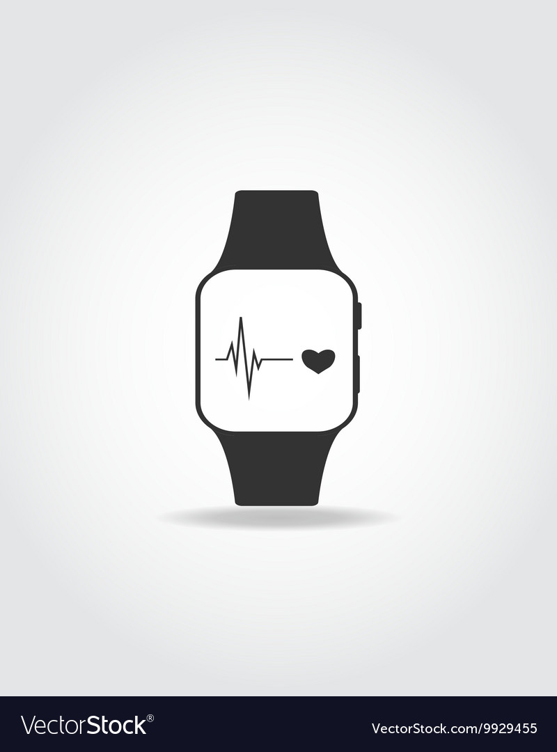 Sport smart watch vector