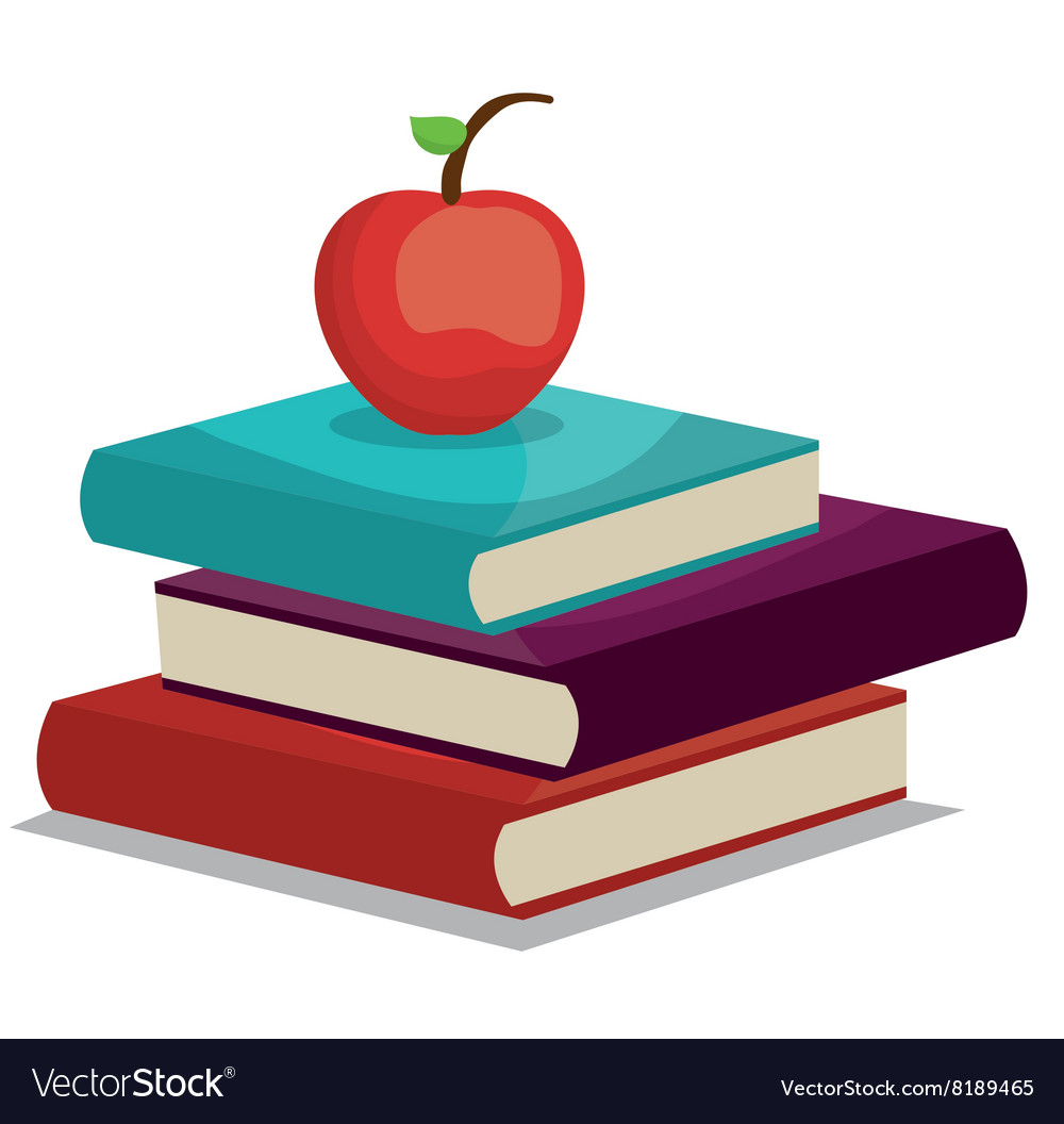 Read books design vector