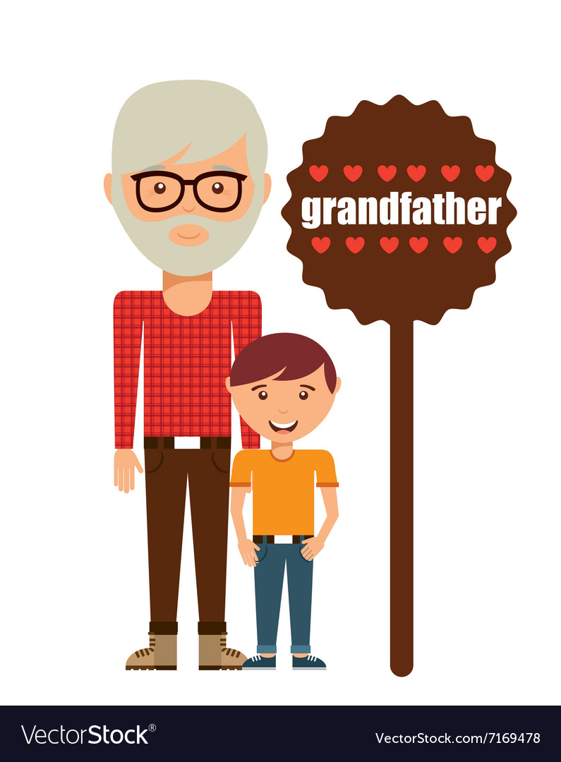 Happy family design vector