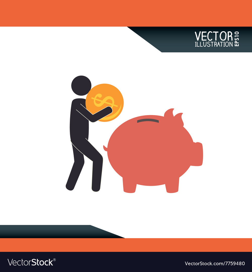 Money icon design vector