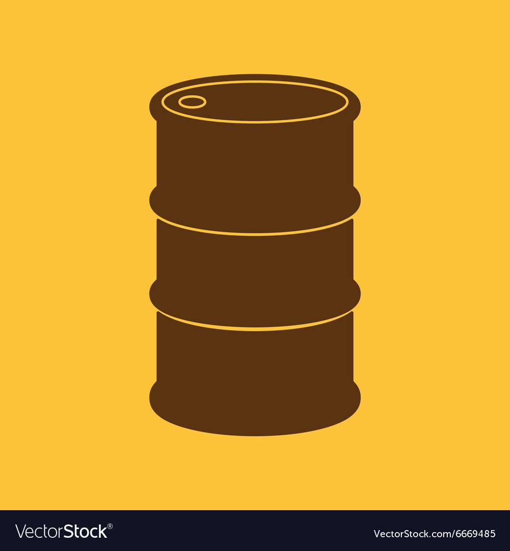Barrel icon vector