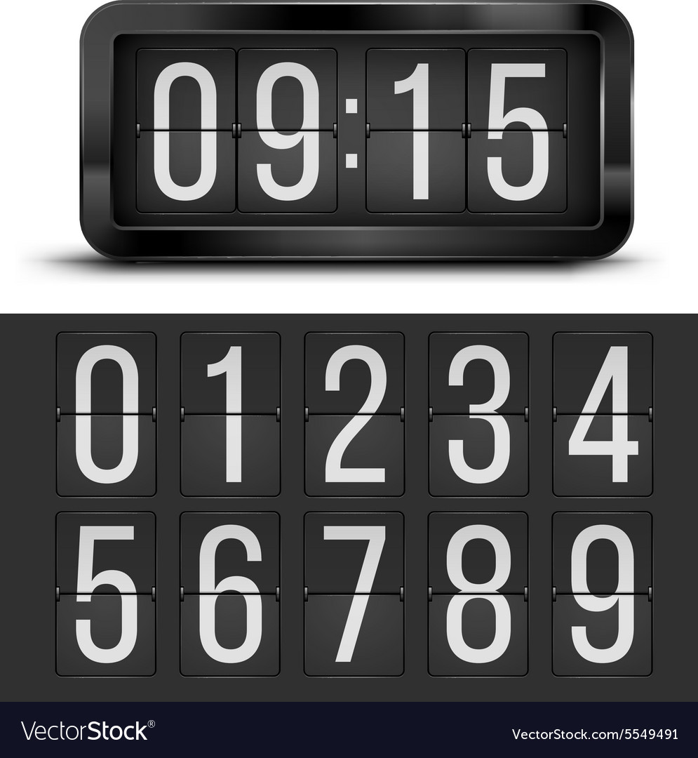 Clock table vector
