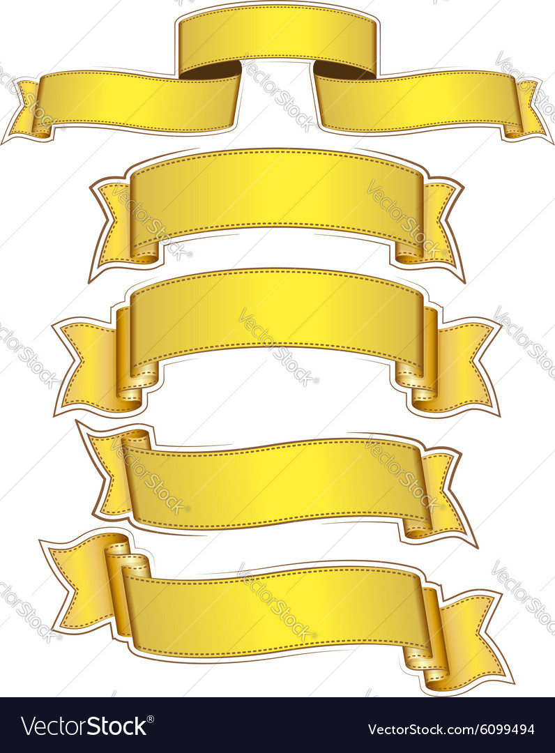 Ribbon222 vector