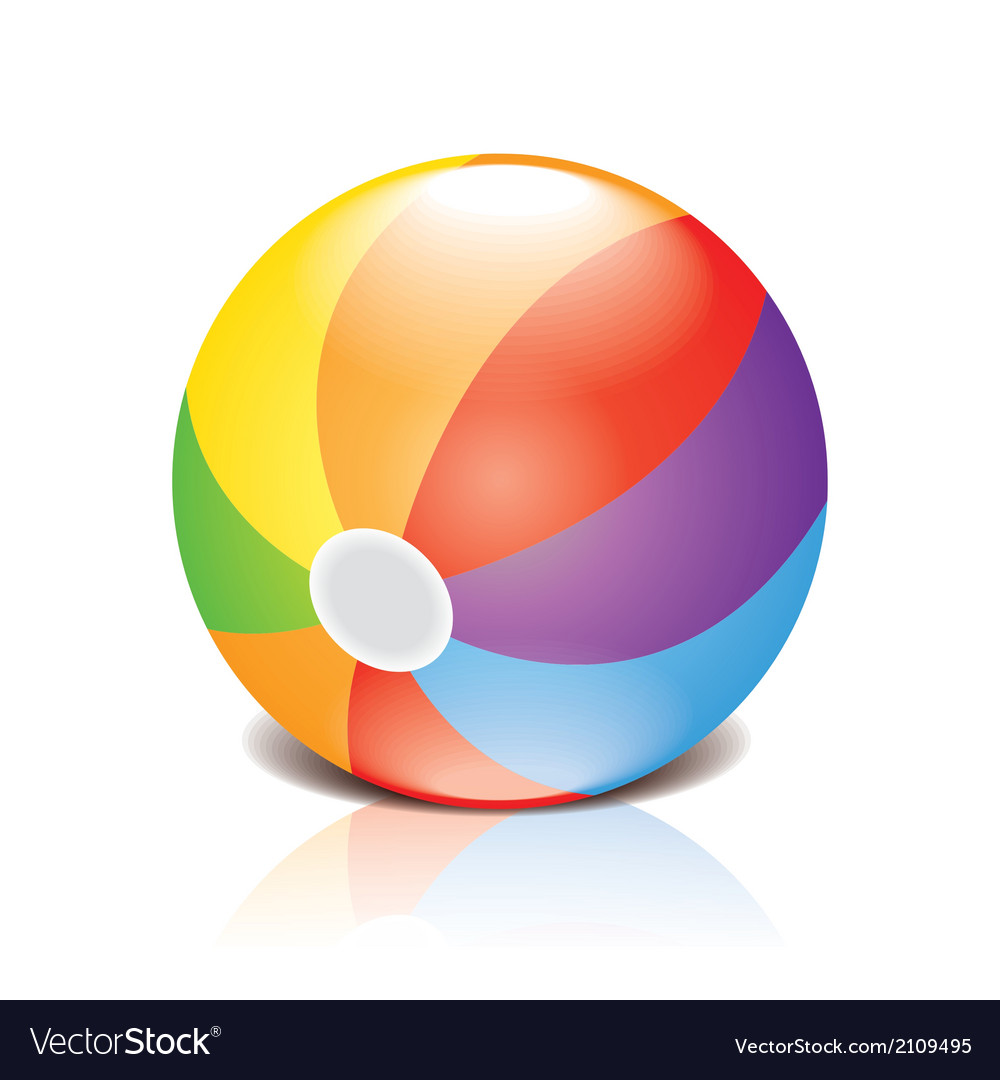 Children ball vector
