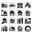 homes set vector image vector image