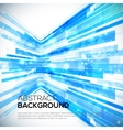 3D Perspective Abstract bright colorful background vector image vector image