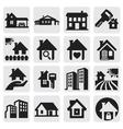 homes set vector image